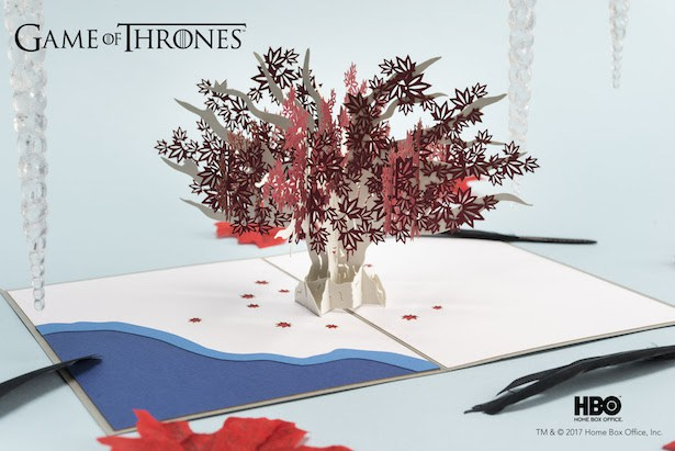 Tarjetas pop-up de Game of Thrones