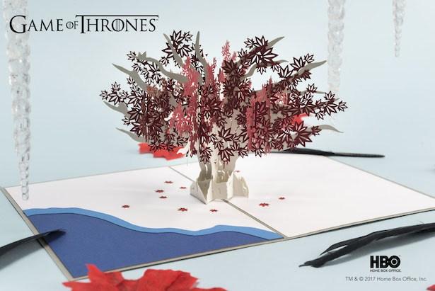 Tarjetas pop-up de Game of Thrones