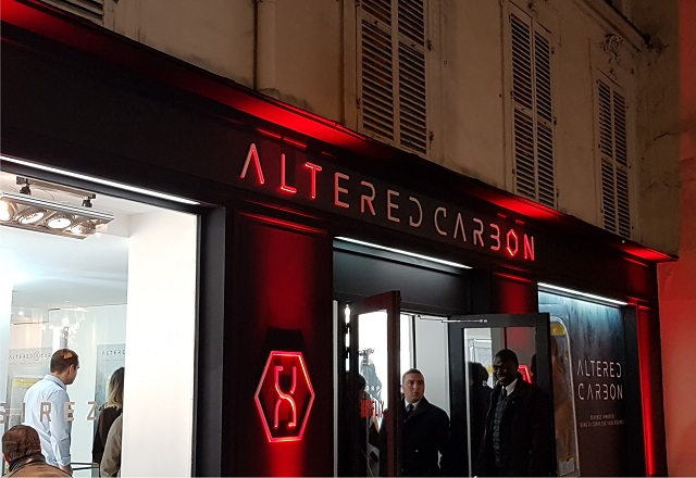 Netflix vende inmortalidad para promocionar Altered Carbon