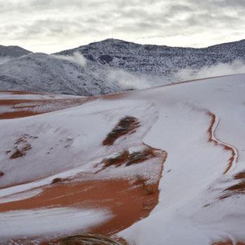 Fotografias de la nevada en el Sahara (7)