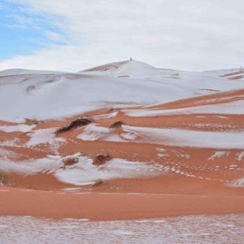 Fotografias de la nevada en el Sahara (8)