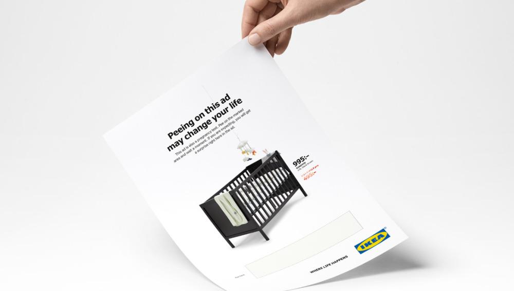 anuncio para que mujeres embarazadas hagan pipi