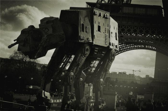 Star Wars a las calles de París