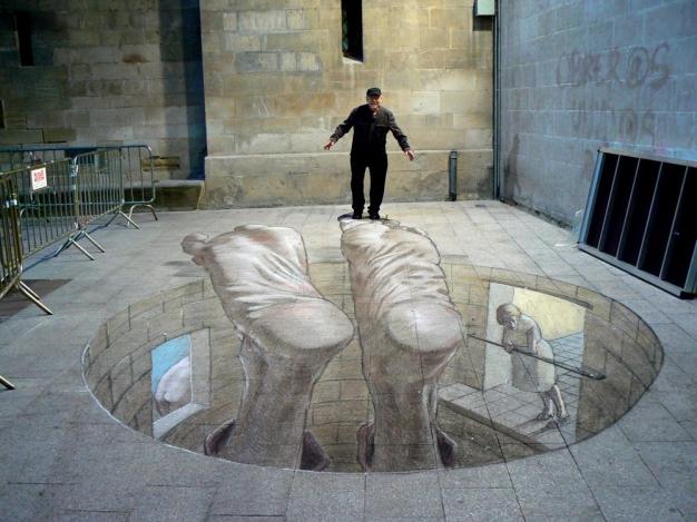 Street Art 3D por Eduardo Relero
