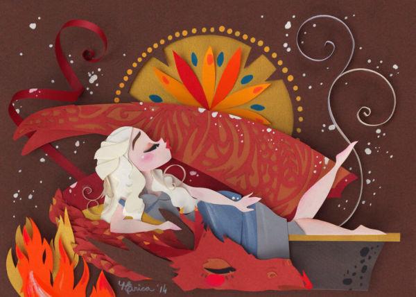 arte en papel por Nathanna Erica (7)