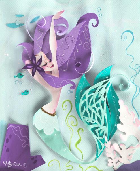 arte en papel por Nathanna Erica (8)