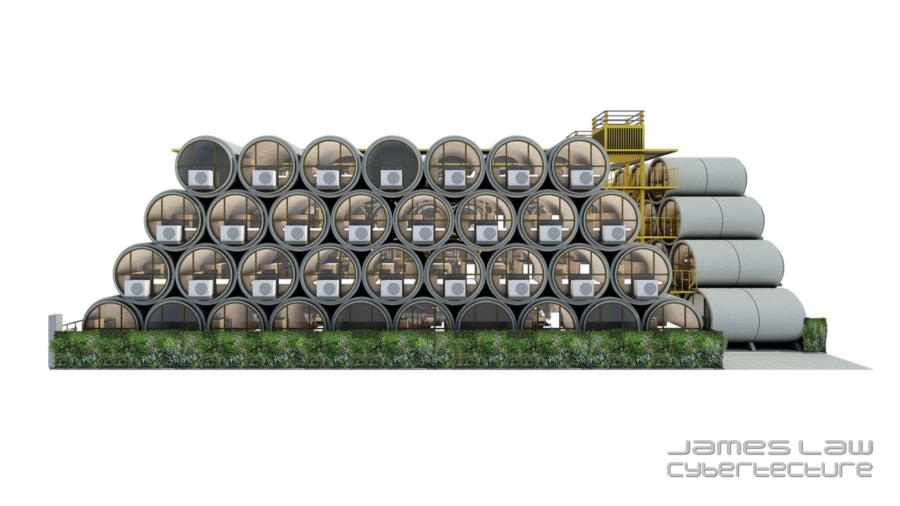 casas hechas con tuberias de hormigon (3)