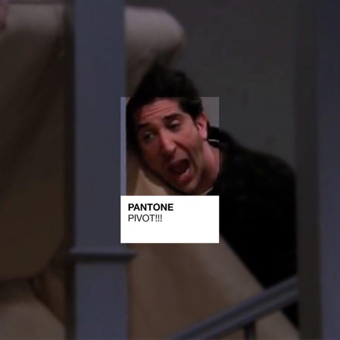Friends en formato Pantone