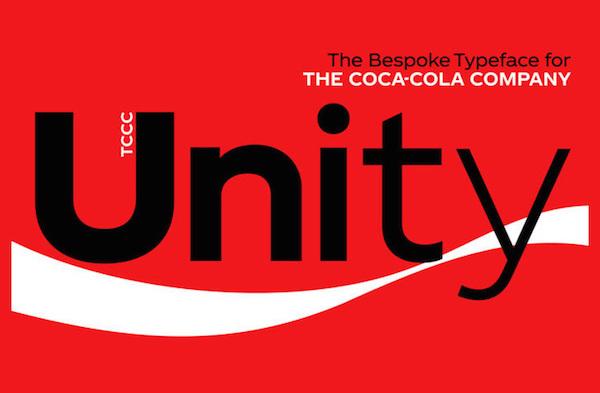 nueva tipografía de Coca-Cola