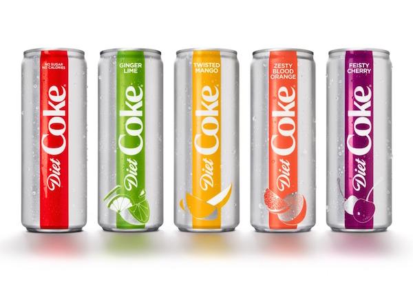 Nuevo diseño en favor de la dieta y la diversidad de Coca-Cola