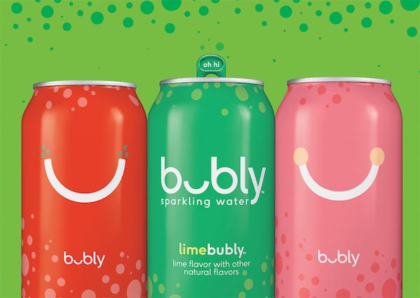 Bubly, la bebida Millenial de Pepsi Co