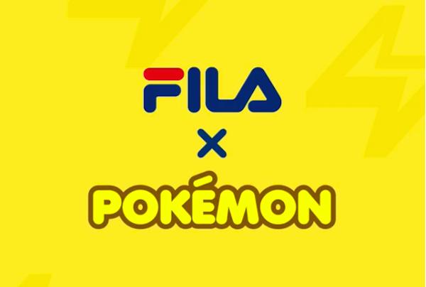 Zapatillas FILA de pokemon