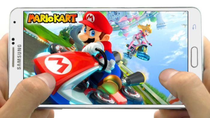 Mario Kart para teléfonos móviles