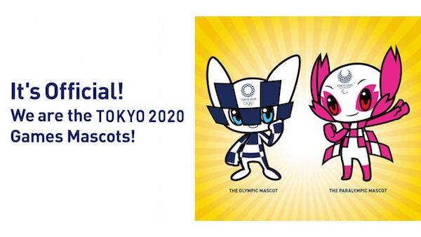 Diseños oficiales de mascotas para Tokio 2020