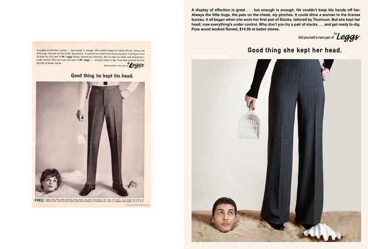 Proyecto fotografico invierte roles sexistas de los 50 (4)