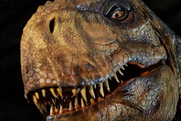exposición de Jurassic World en París