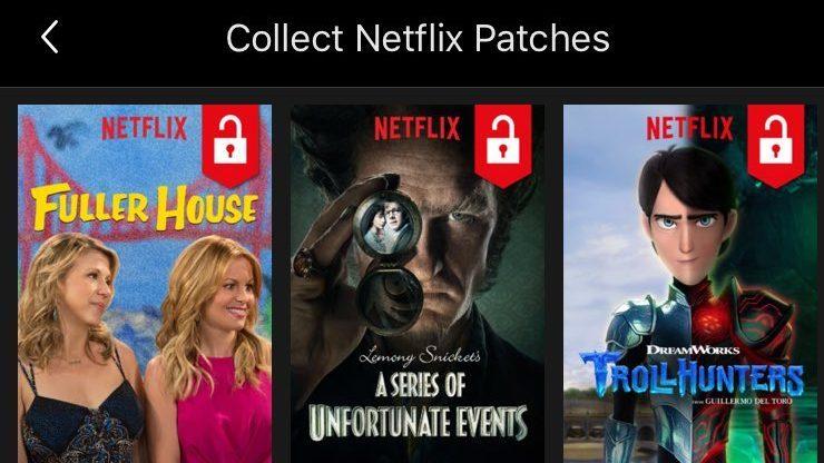 Función de 'logros' de Netflix