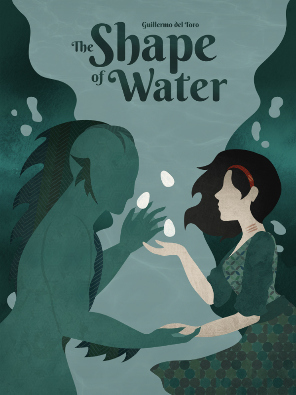 """Shape of Water"" por Kiki Kogelnik"