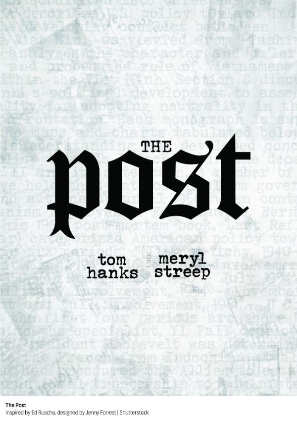 """The Post"" por Ed Ruscha"