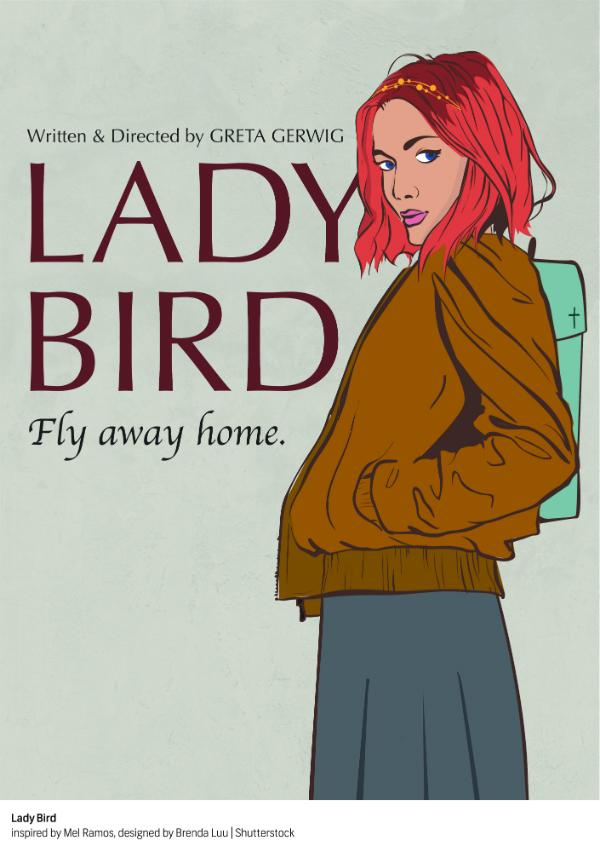"""""""Lady Bird"""" por Mel Ramos"""