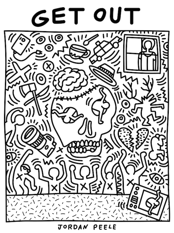 """Get Out"" porKeith Haring"