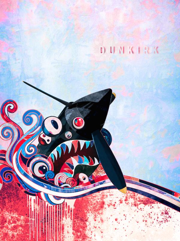 """Dunkirk"" por Takashi Murakami"