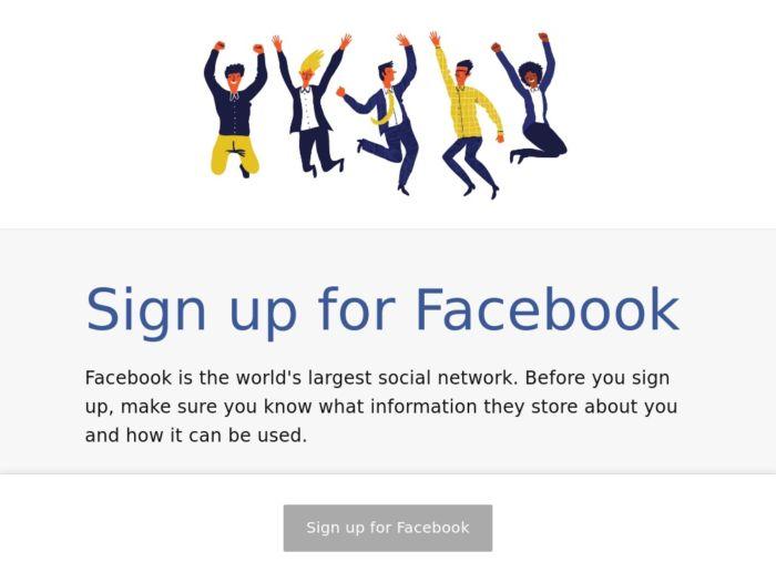 Propuesta de diseño de Facebook en favor de la transparencia