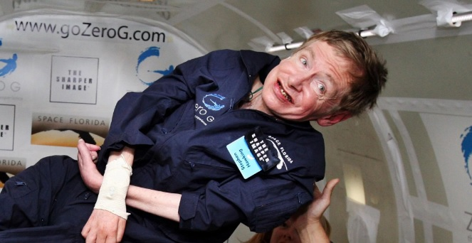 NASA Stephen Hawking