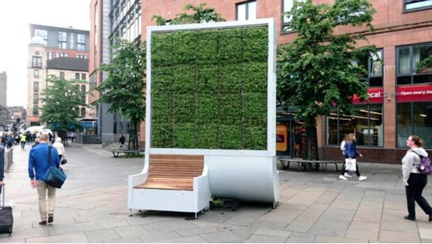 Diseño ecológico de bancas publicas