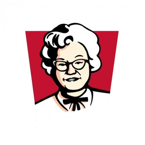 KFC sustituyó la imagen del coronel por la de su esposa