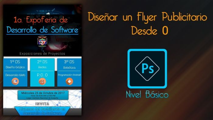 Crear un flyer publicitario en Photoshop