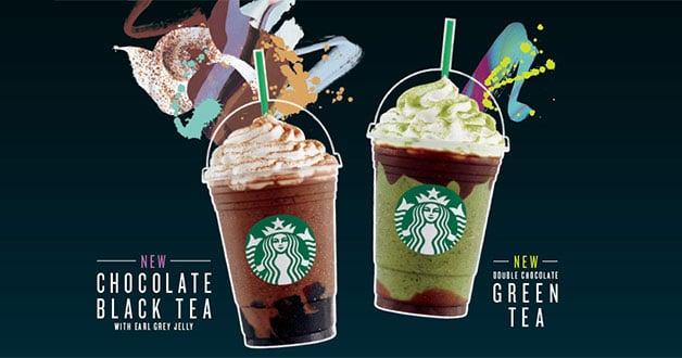 Dos nuevo sabores de Starbucks