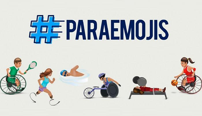 emojis que representan a los atletas paralímpicos