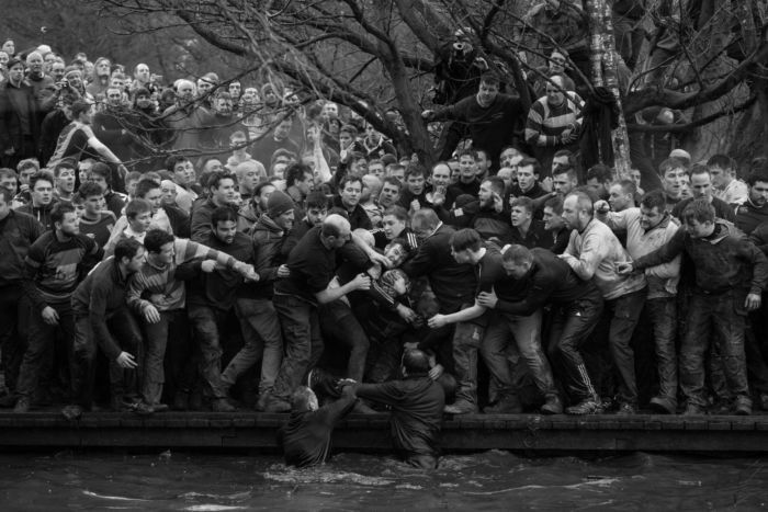 Sports - Oliver Scarff, Royal Shrovetide Football