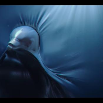 Océano plastificado, un creativo anuncio contra la contaminación