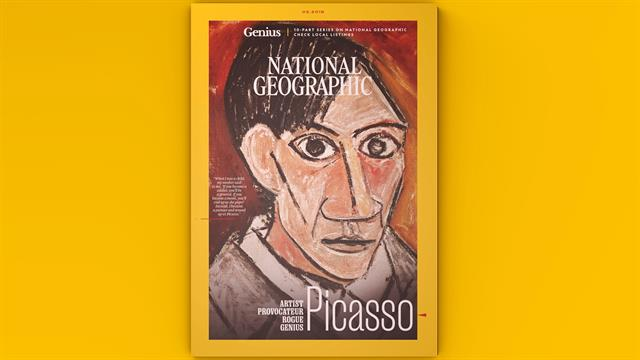 Rediseño de la revista de National Geographic