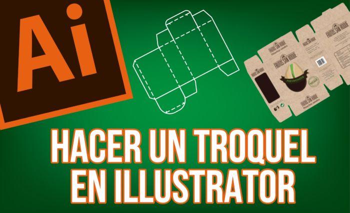 diseñar un troquel en Illustrator