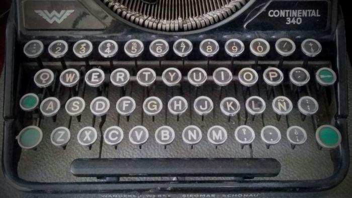 Fuentes inspiradas en máquinas de escribir