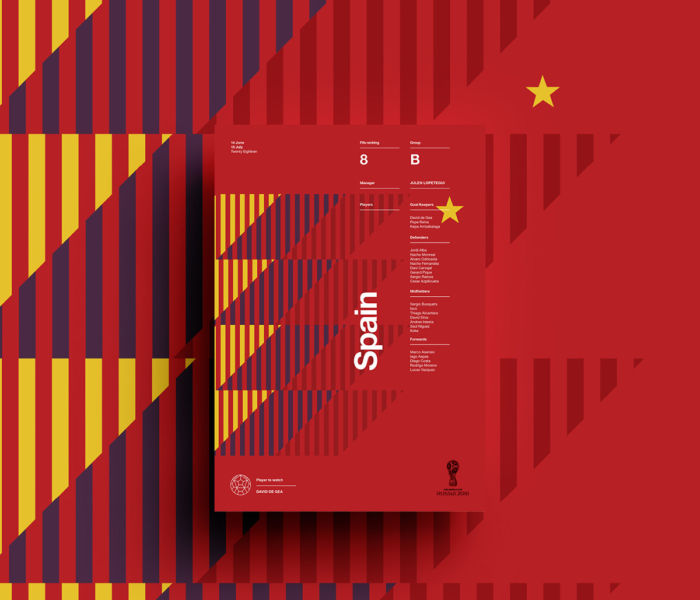 Carteles retro de países para la FIFA World Cup Russia