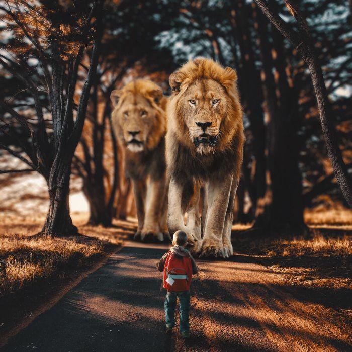 Ilustraciones de animales gigantes (4)