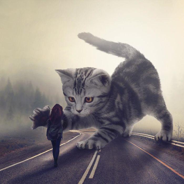 Ilustraciones de animales gigantes (7)