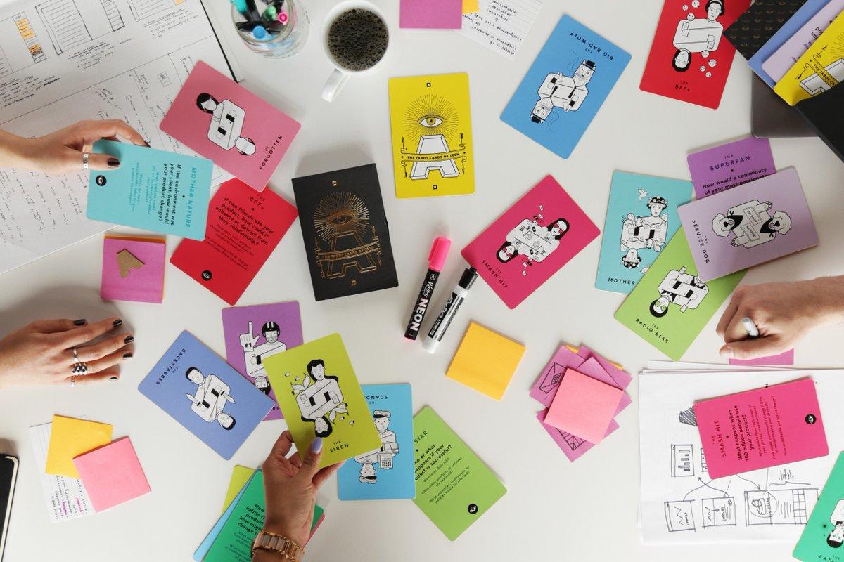 Cartas del tarot para diseñadores
