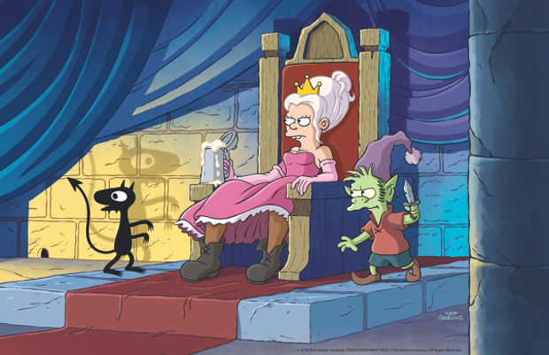 Disenchantment, la nueva serie del creador de los Simpson