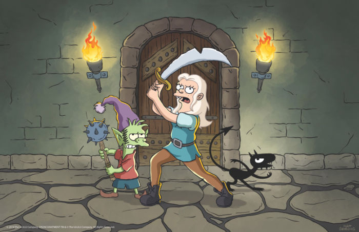 disenchantment-netflix-warrior-pose