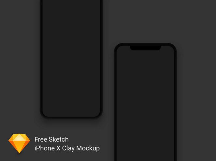 Mockups de iPhone X