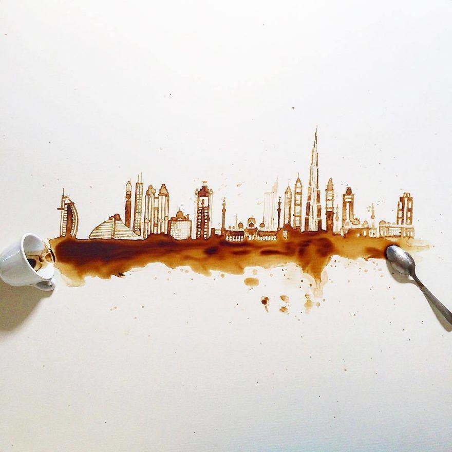 ilustraciones manchas de cafe (4)