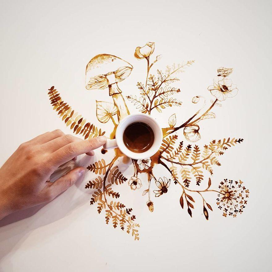 ilustraciones manchas de cafe (5)