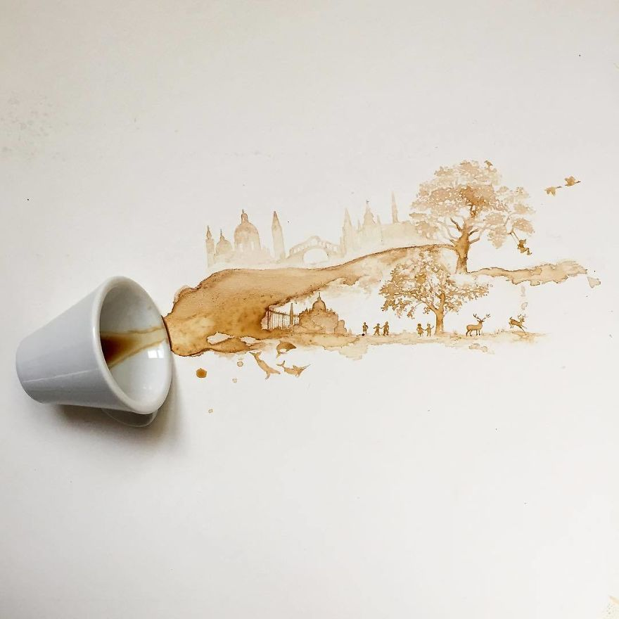 ilustraciones manchas de cafe (6)