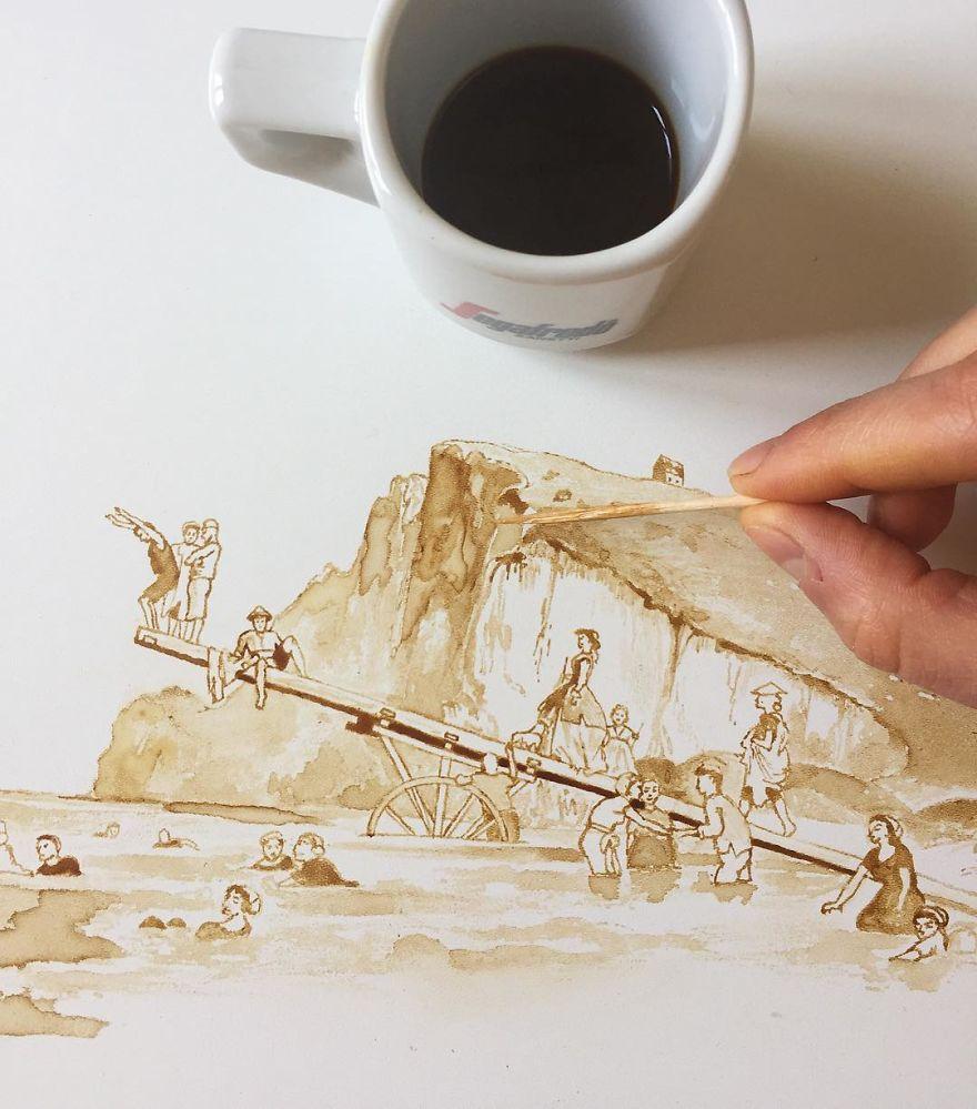 ilustraciones manchas de cafe (7)