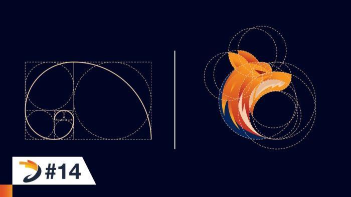 Cómo diseñar un logo con proporción áurea